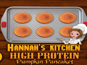 Play High Protein Pumpkin Pancakes
