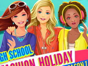 Play High School Fashion Holiday - Season 1