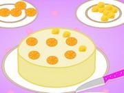 Play How to Bake an Orange Crunch Cake