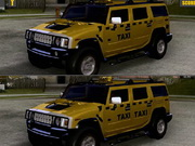 Play Hummer Taxi Differences