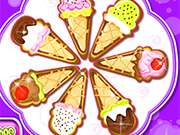 Play Ice Cream Cone Cookies