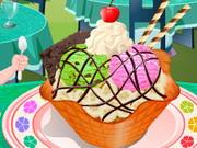 アイスクリームサンデー