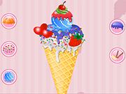 アイスクリームの装飾