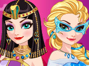 Play Ice Queen Time Travel Egypt