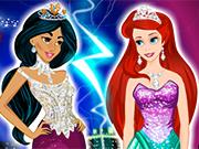 Play Jasmine VS Ariel Fashion Battle