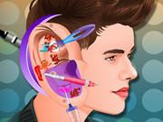 ジャスティンビーバーの耳の感染症