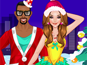 Play Kim and Kanye on Chrismas