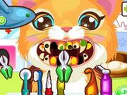Play Kitty At The Dentist