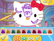 Play Hello Kitty Face Painting