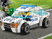 Play Lego Police Car Puzzle