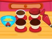 ライトニングマックィーンのカップケーキ
