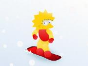 Play リサ・オンスノーボード