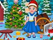 Play Little Anna Christmas Cleaning