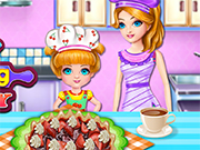 Play Little Chef Cooking with Mommy