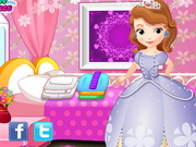 Play Little Princess Sofia Washing Clothes