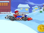 Play Mario Christmas Kart