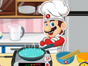 Play Mario Cooking Noodle
