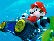 Play Mario Driving Underwater