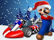 Play Mario Xmas Kart