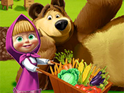 Play Masha and The Bear Farming