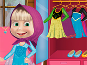 Masha and The Bear Frozen Costume