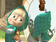 Play Masha and the Bear Typing