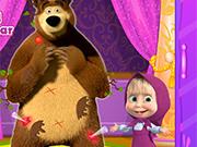 Play Masha And The Messy Bear