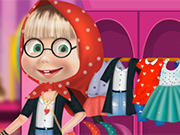 Play Masha Fashion Dress Up