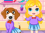 Play Matching Baby & Puppy Outfits