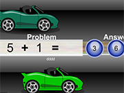 Play Math Racers Addition Edition