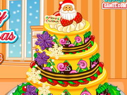 Play Merry Chrismtas Cake Decoration