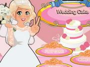 ミア料理ウェディングケーキ
