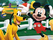 ミッキーマウスクラブハウスのパズル