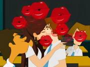 Mileysロマンチックなキス