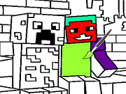 Play Minecraft Coloring