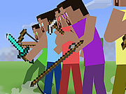 Play Minecraft Stickman Showdown