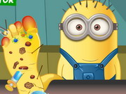 Play Minion Foot Doctor