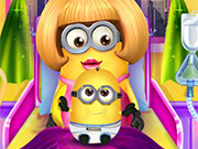 Play Minion Girl And The New Born Baby