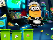 Play Minion Laboratory Cleaning