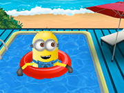 Minion's Swimming Pool Clean Up