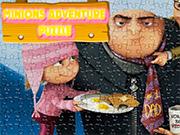 Play Minions Adventure Puzzle