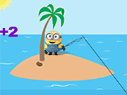 Play Minions Fishing Day