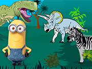 Play Minions In Jurassic Park