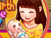 Play Mom Give Birth newborn Babys