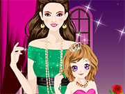 Play Mom loves Baby Dressup