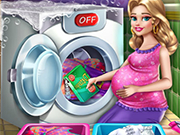 Play Mommy Laundry Day