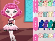 Play Monster High Chibi C.a. Cupid Dress Up