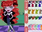 Play Monster High Chibi Operetta Dress Up