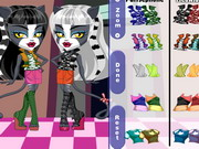 Play Monster High Chibi Werecat Sisters