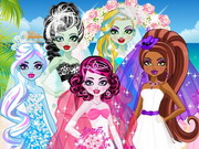 Play Monster High Cute Bride